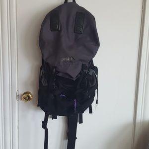 Handbags - Peak 1 travel daypack backpack
